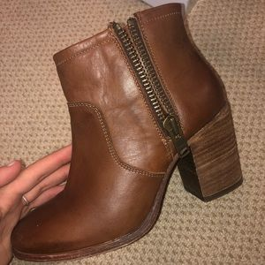 Booties. Size 8.
